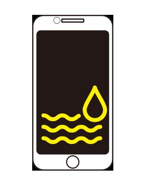 アイフォン水没復旧修理